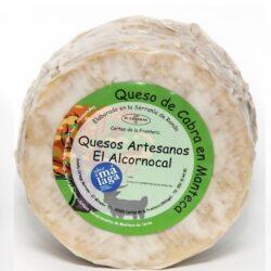 quesos de cabra en manteca